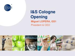 I&S Cologne  Opening