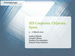 IES  Caepionis ,  Chipiona , Spain