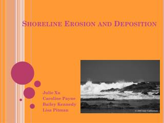 Shoreline Erosion and Deposition