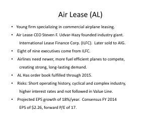 Air Lease (AL)