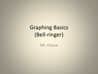 Graphing Basics (Bell-ringer)