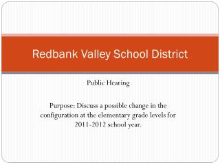 Redbank Valley School District