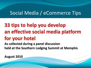MMHLA social media slides 8 26 10