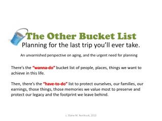 The Other Bucket List