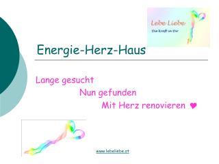 Energie-Herz-Haus