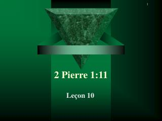2 Pierre 1:11