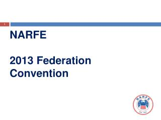 NARFE 2013 Federation Convention