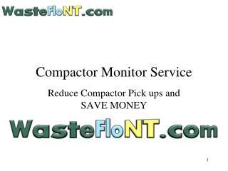 Compactor Monitor Service