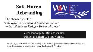 Safe Haven  Rebranding
