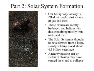 Condensation of the Solar Nebula