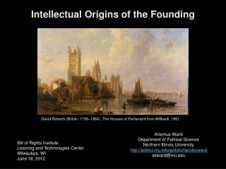 Intellectual Origins of the Founding