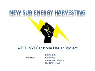 New SUB Energy Harvesting