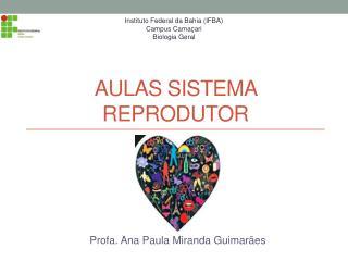 Aulas sistema reprodutor
