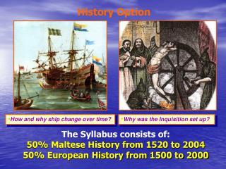 History Option