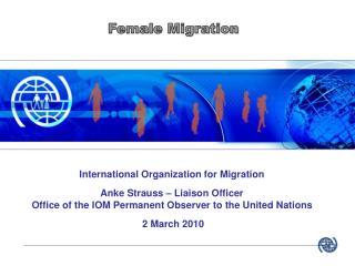 Female Migration