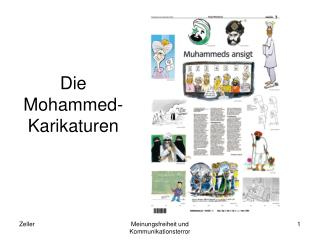 Die Mohammed-Karikaturen
