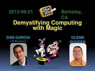 Demystifying Computing with Magic