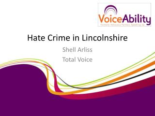 Hate Crime in Lincolnshire