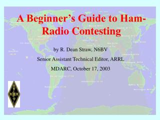A Beginner's Guide to Ham- Radio Contesting