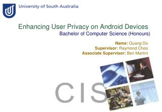 Enhancing User Privacy on Android Devices