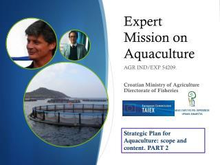 Expert Mission on Aquaculture