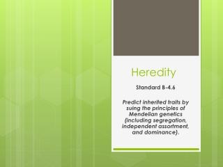 Gregor Mendel  Genes  Alleles  Genotype  Phenotype  Homozygous  Heterozygous  Punnett Squares  Monohybrid Crosses  Dihyb