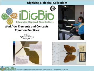 Digitizing Biological  Collections