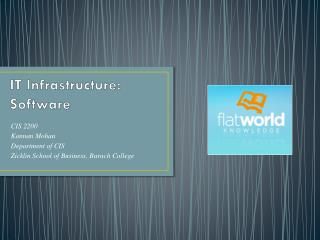 IT Infrastructure: Software