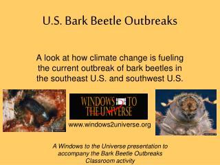 U.S. Bark Beetle Outbreaks