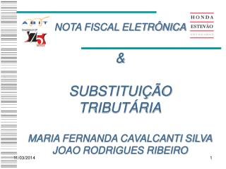 NOTA FISCAL ELETR NICA    SUBSTITUI  O TRIBUT RIA  MARIA FERNANDA CAVALCANTI SILVA JOAO RODRIGUES RIBEIRO