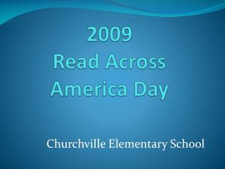 2009  Read  Across America  Day
