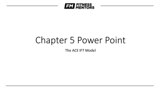 Chapter 5: Lifting and Moving Patients