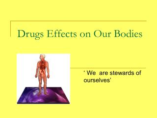 Drugs Effects on Our Bodies