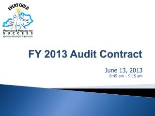FY 2013 Audit Contract