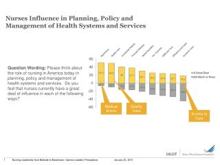 Nurses Influence in Planning, Policy and Management of Health Systems and Services