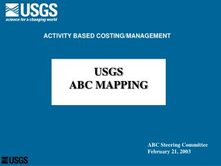USGS ABC MAPPING