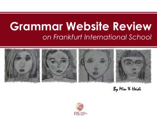 Grammar Website Review on Frankfurt International School