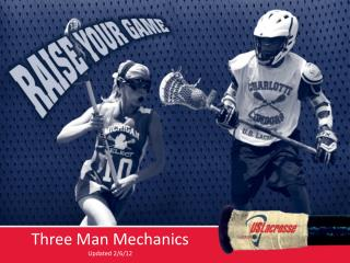 Three Man Mechanics Updated 2/6/12