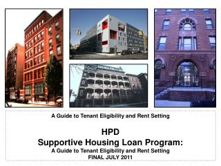 A Guide to Tenant Eligibility and Rent Setting
