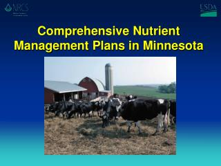 Comprehensive Nutrient Management Plans in Minnesota