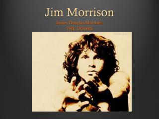 an introduction to the life of jim morrison I biography of jim morrison introduction background and upbringing major accomplishments and awards personal life recent news public statements and quotes trivia/facts conclusion sources.