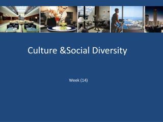 Culture &Social Diversity