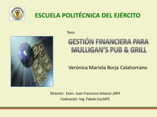Verónica Mariela Borja  Calahorrano