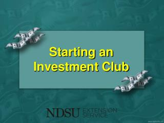 Starting an  Investment Club