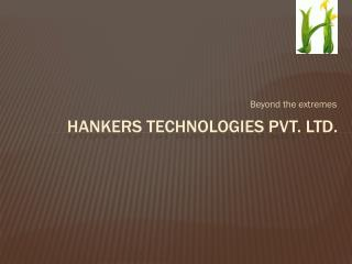 Hankers Technologies Pvt. Ltd.