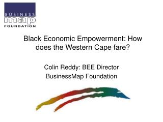 Black Economic Empowerment: How does the Western Cape fare?