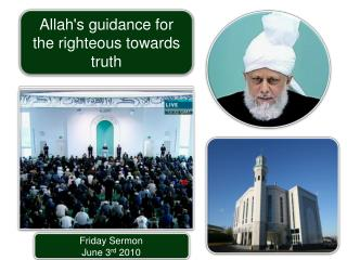 Friday Sermon June 3 rd  2010