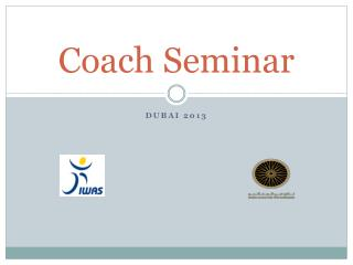 Coach Seminar