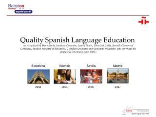 Quality Spanish Language  Education