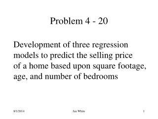 Problem 4 - 20